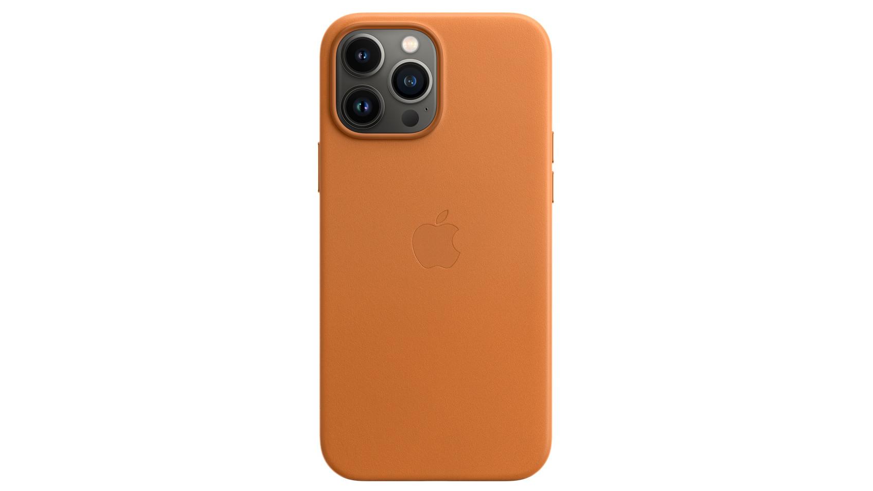Etui en cuir Apple iPhone 13