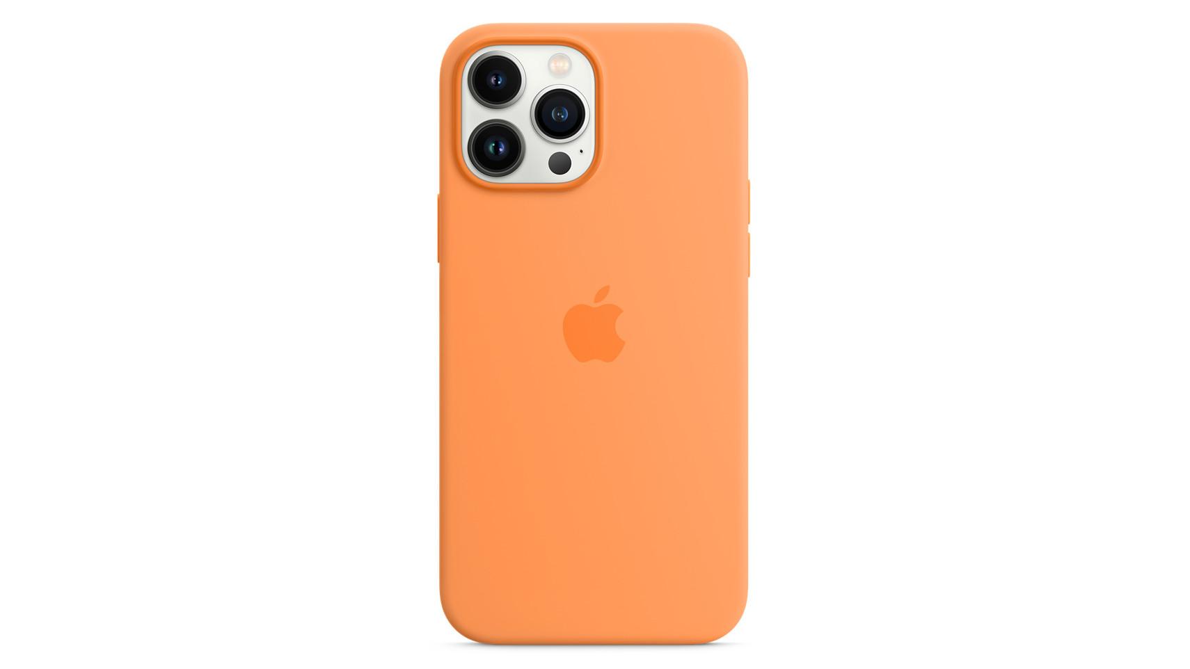 Coque en silicone Apple iPhone 13