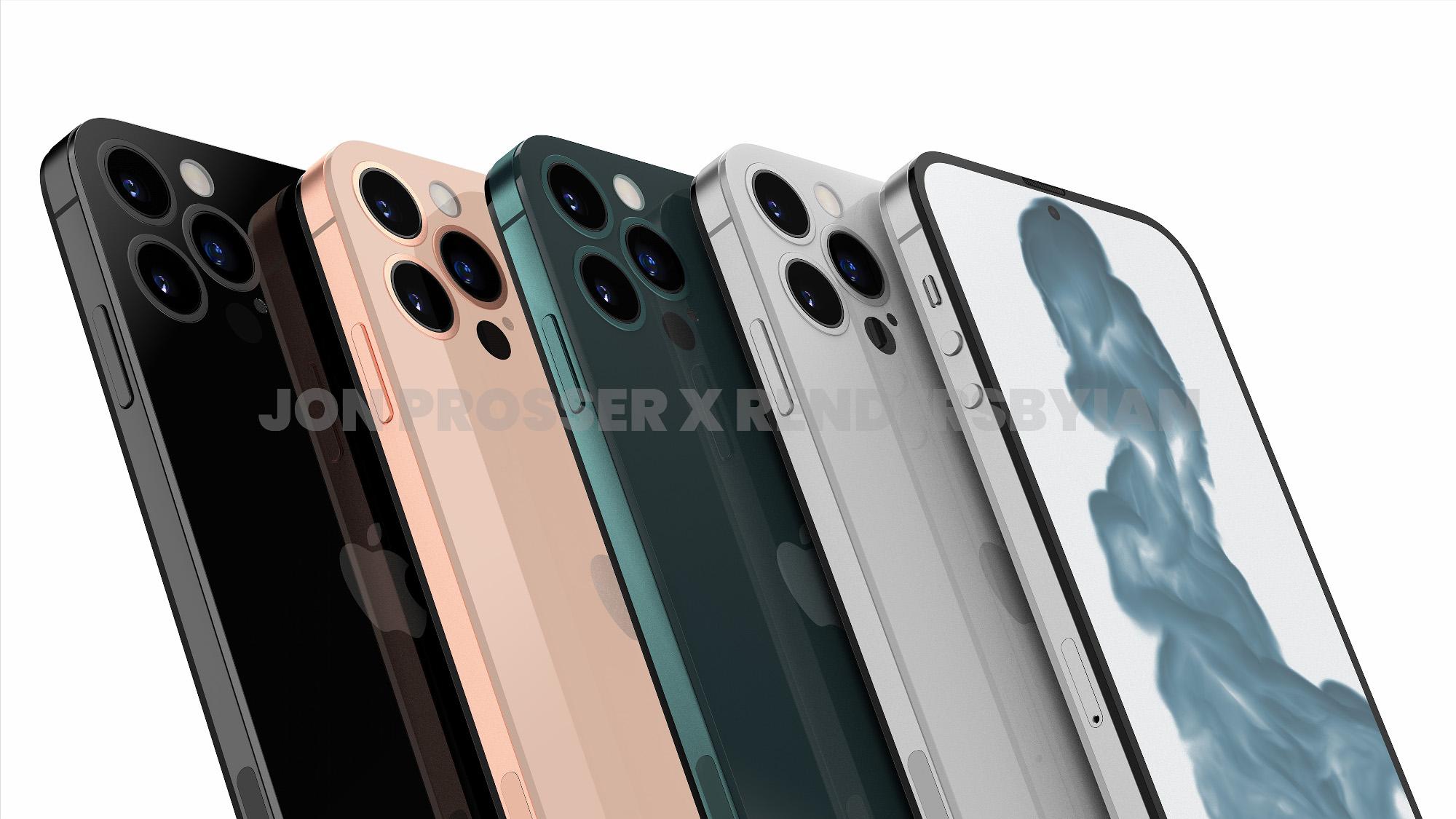 iPhone 14 Fuite de couleurs