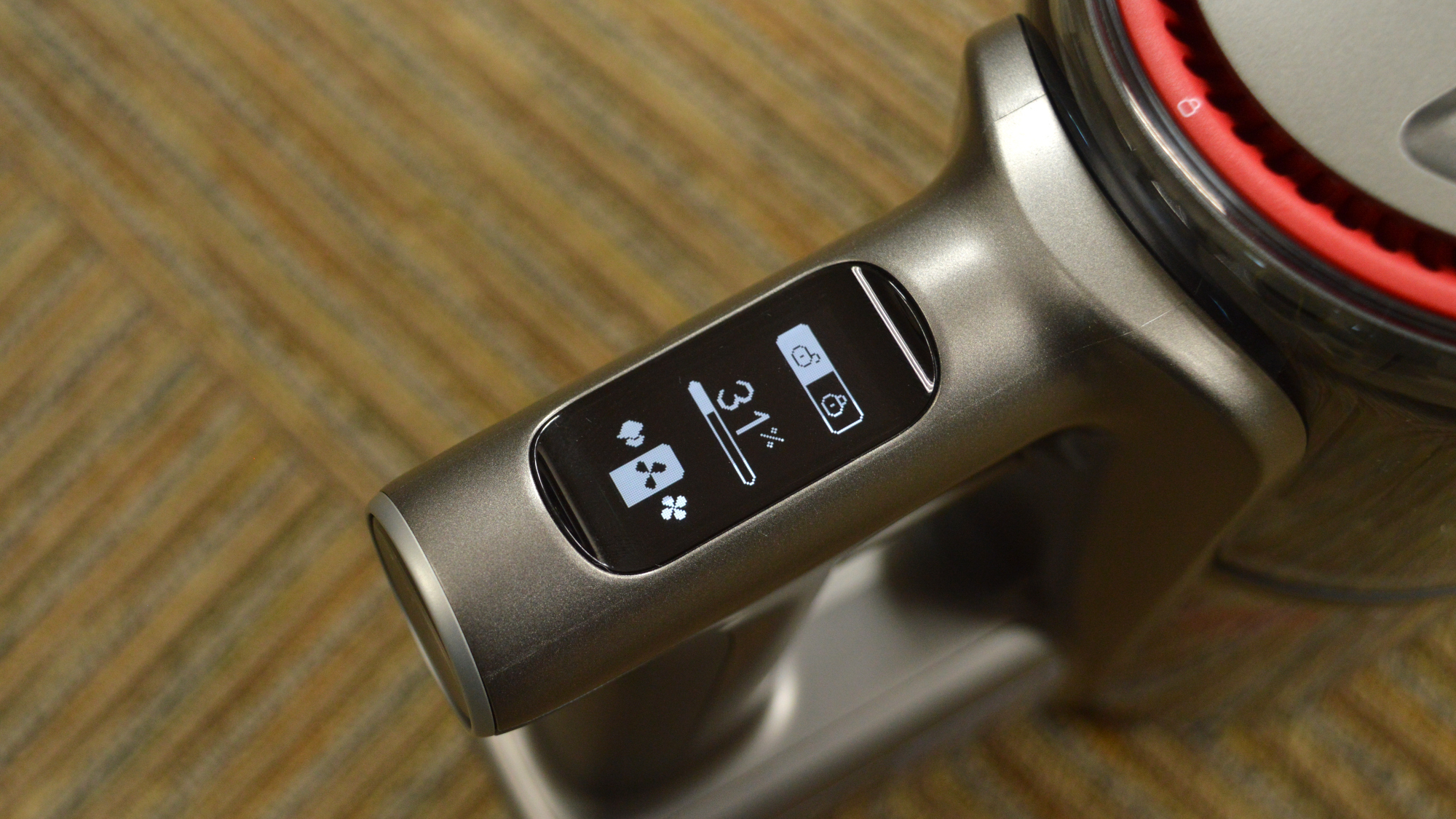 Roborock H7 Cordless Vacuum Display
