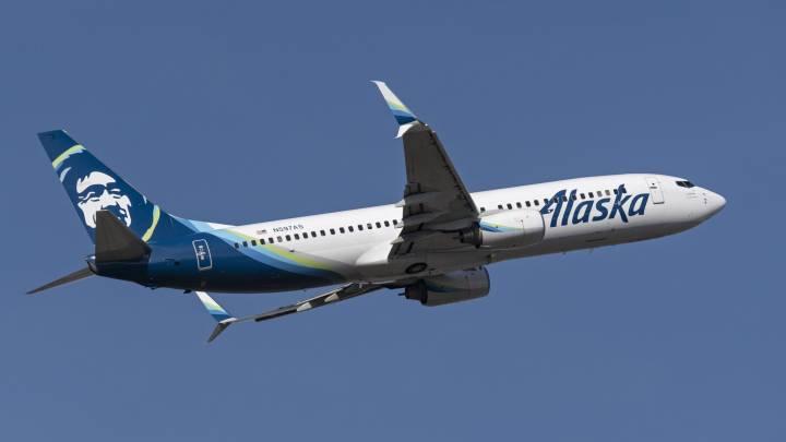 Alaska Airlines flight attendant