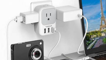 Tessan power strips and outlets