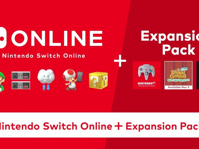 Nintendo Switch Online Expansion Pack