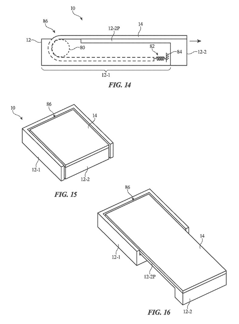 Rollable iPhone