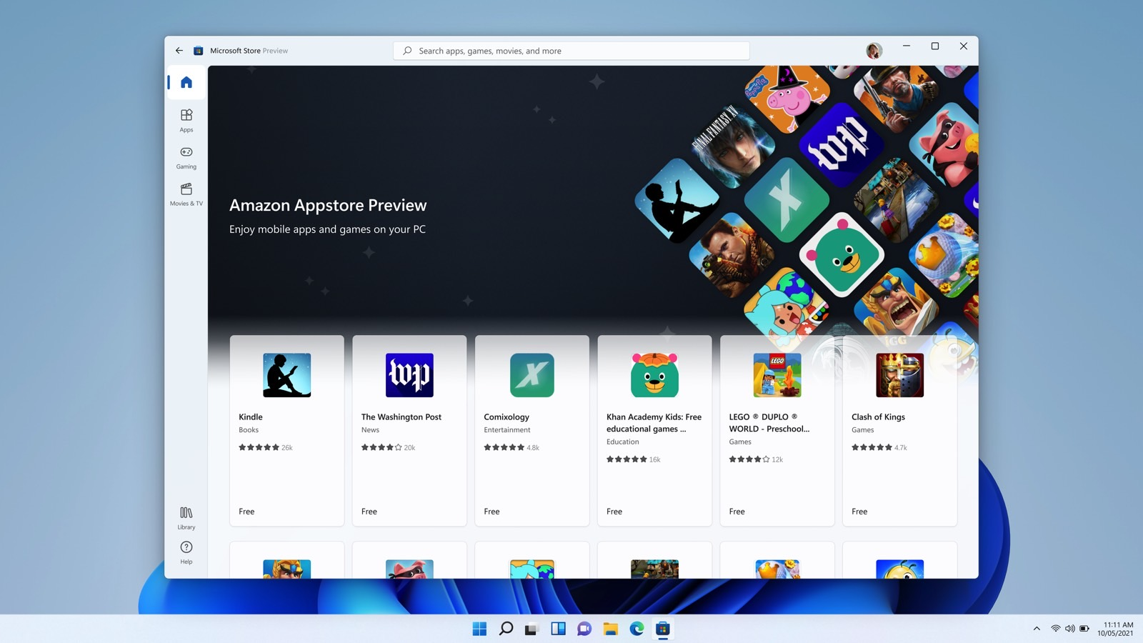 Windows 11 finally runs Android apps, but there are limits